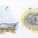 Drawing of SS Panay